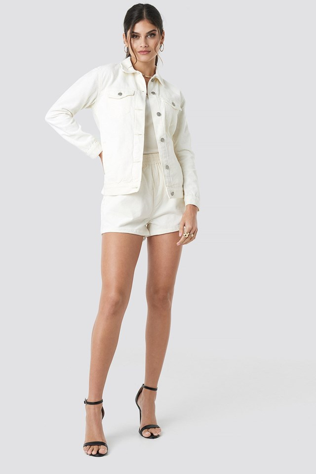Larissa Cord Jacket Outfit