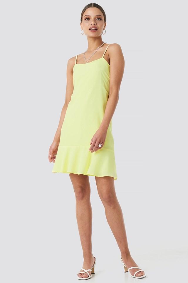 Strap Mini Dress Outfit
