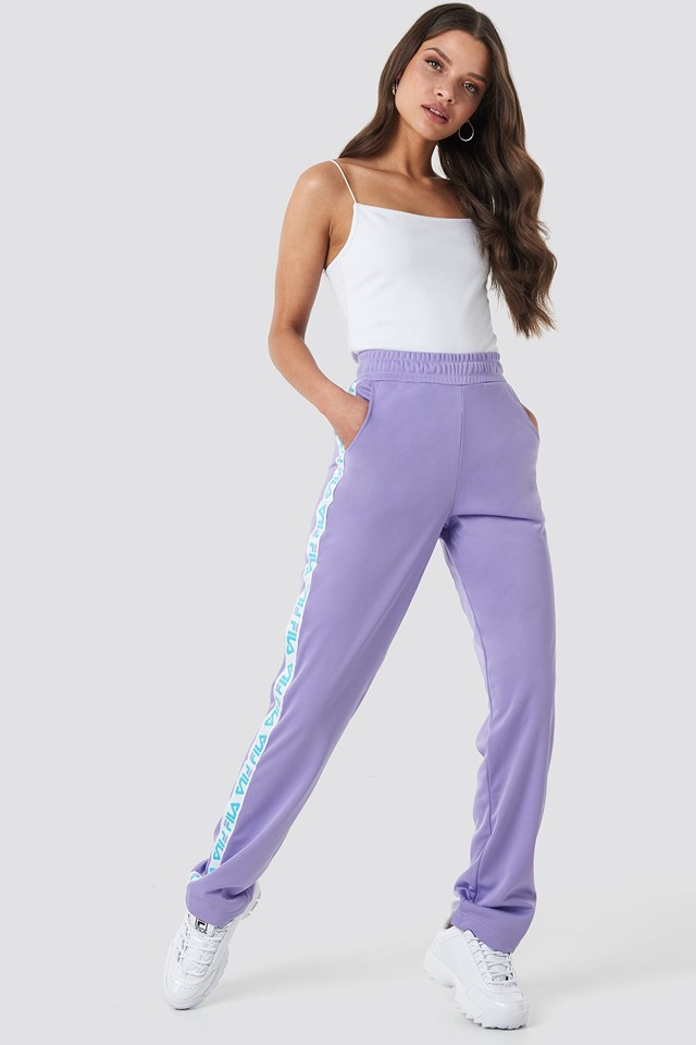 Women Strap Track Pants Outfit.