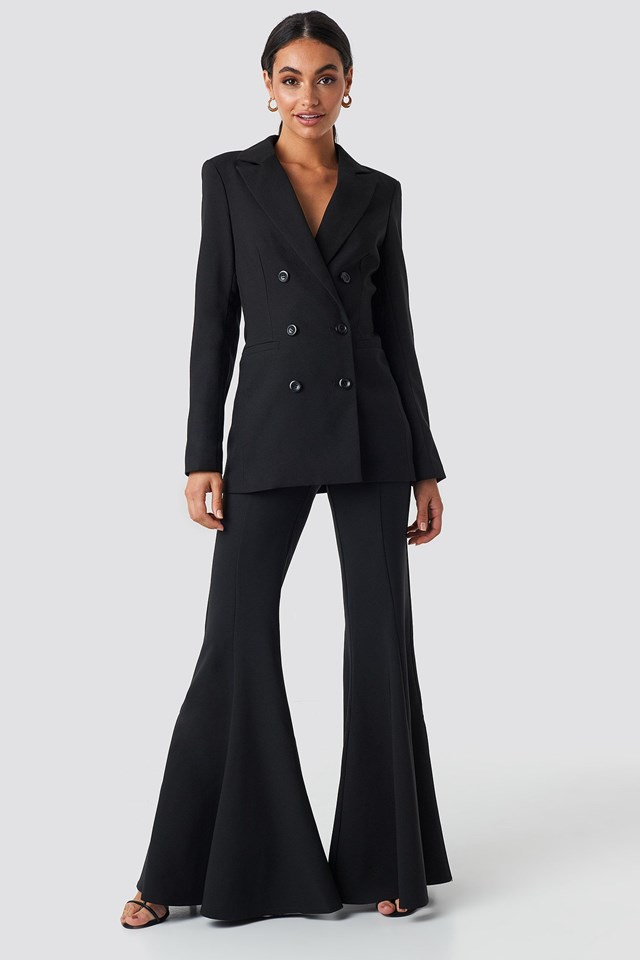 Tailored Blazer Black Outfit