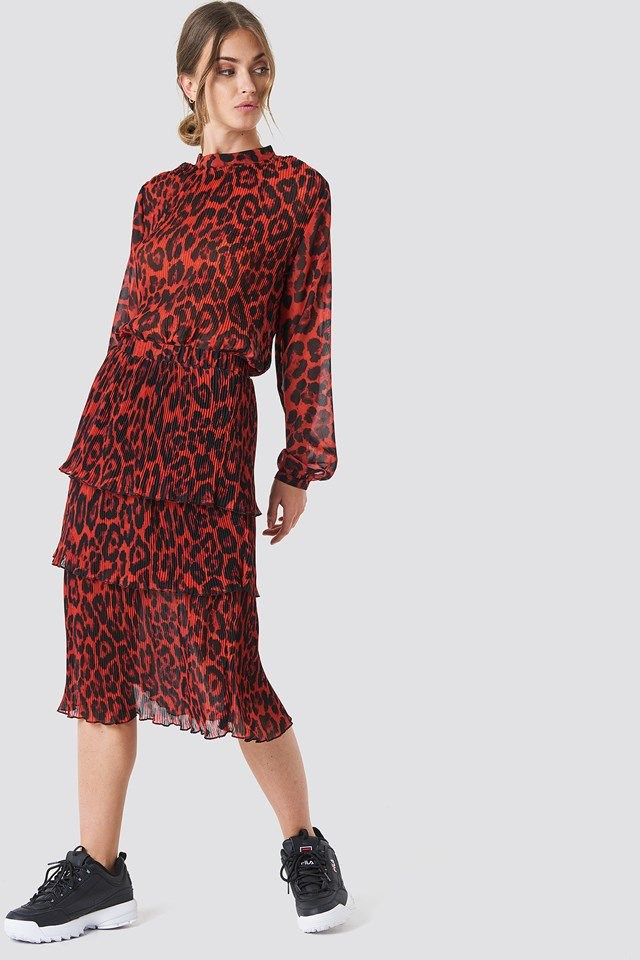 Feminen Leopard Outfit
