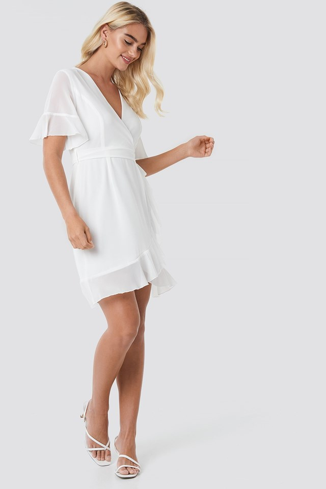 Greto Dress White