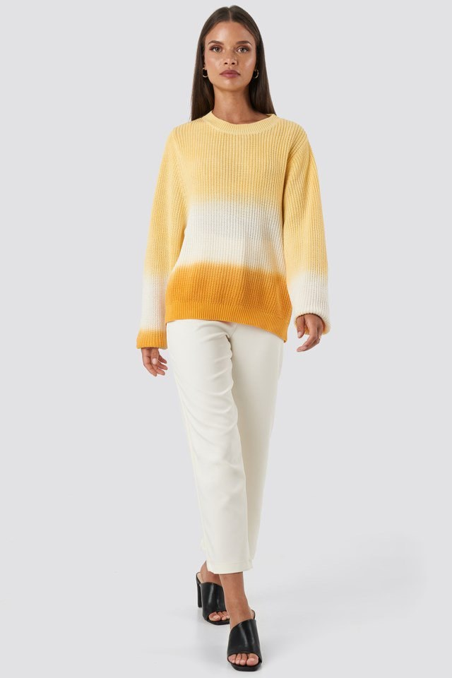 Degrade4 Sweater Yellow Outfit