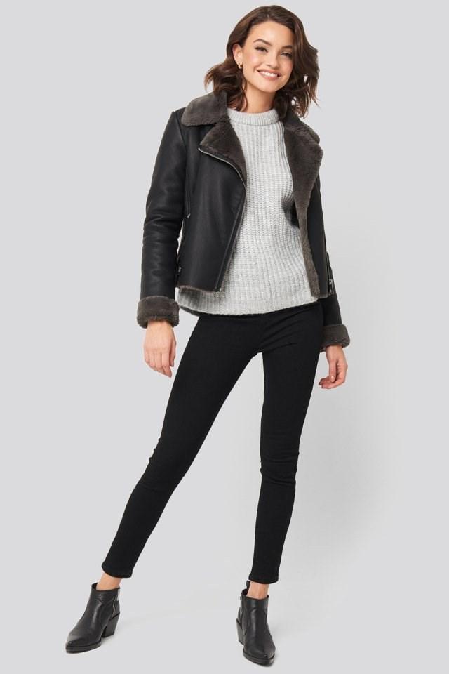 Cadi Jacket Black Outfit