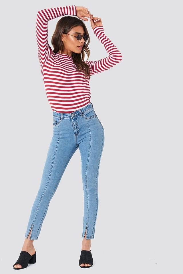 Slits and stripes