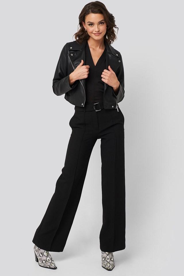 Bon Jacket Black Outfit.