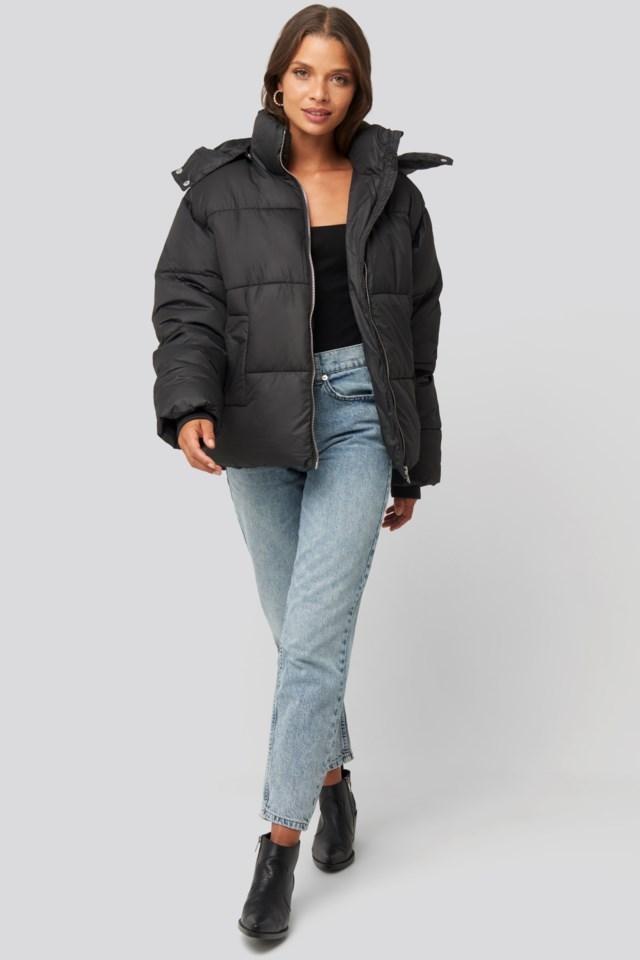 Puffer Jacket Look