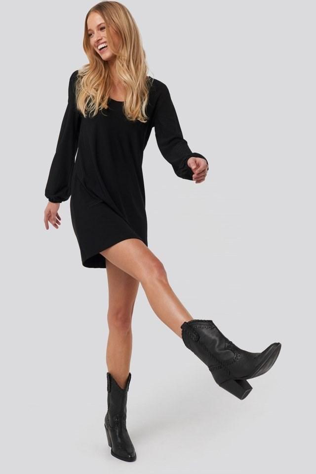 Velduan Dress Black Outfit