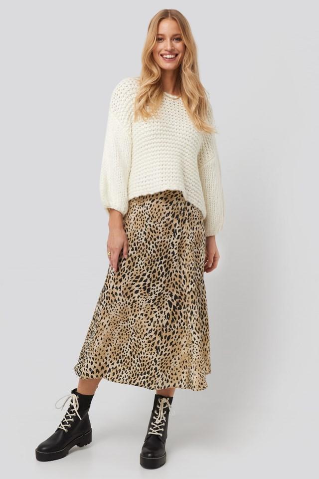 Pardo Skirt Multicolor Outfit