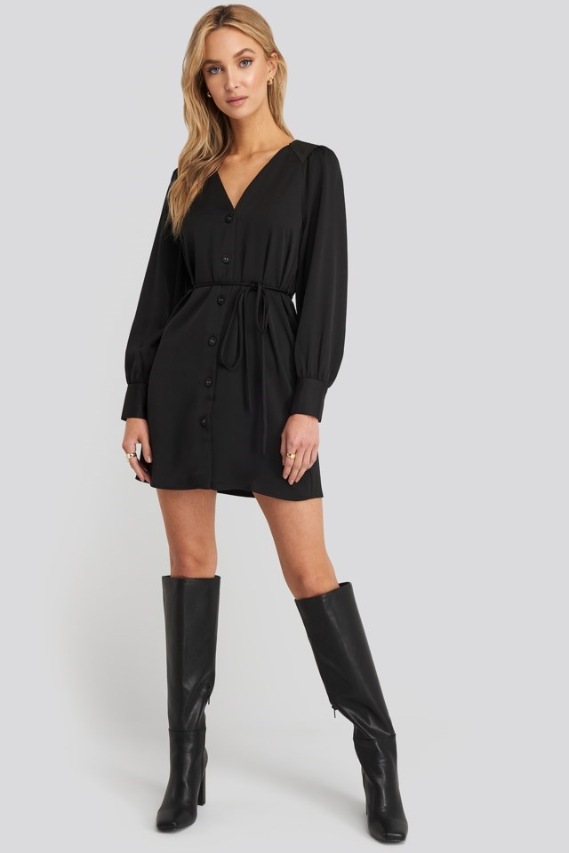 Brunete Dress Black Outfit