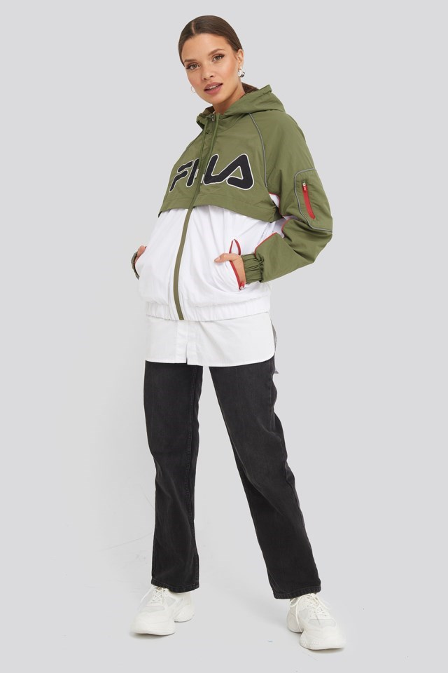 Ummi Windbreaker Outfit