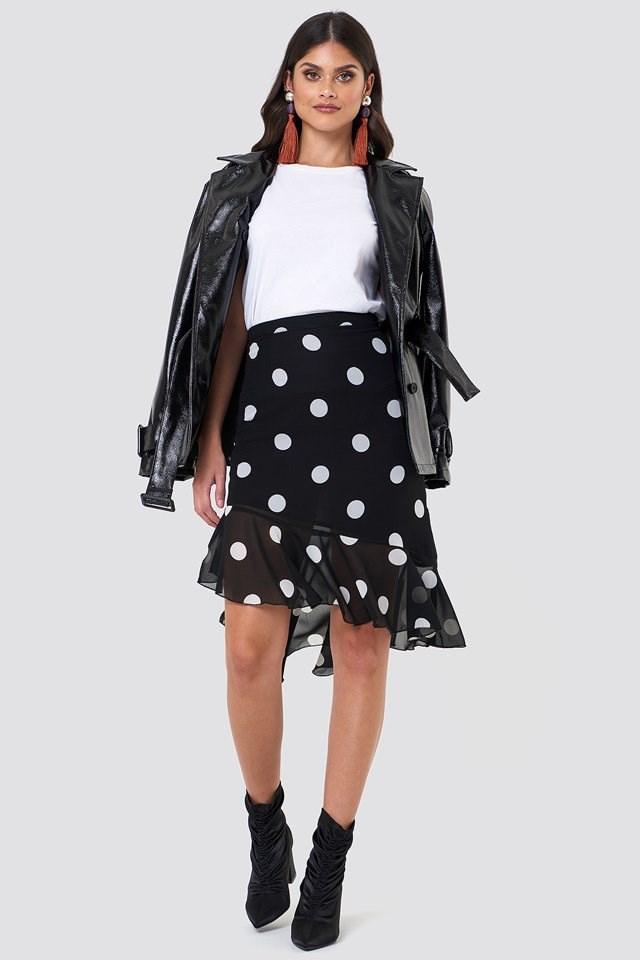 Ruffle Midi Dress Outfit