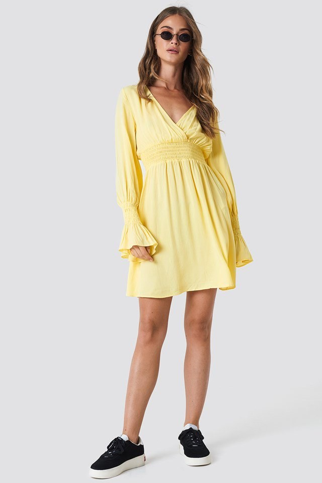 Comfortable Dress with Elastic Waist