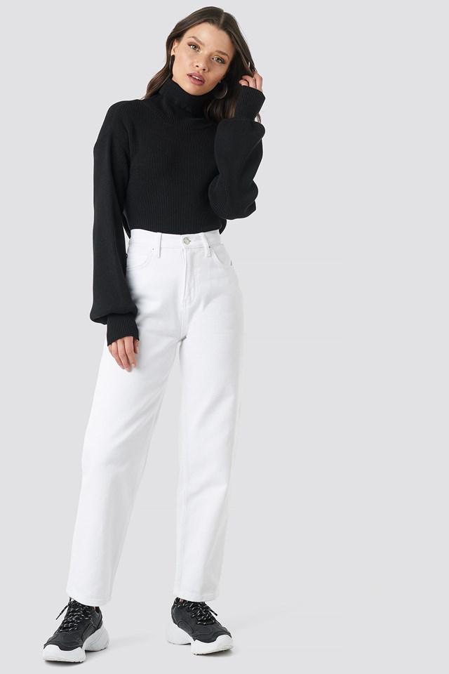 Straight Mom Jeans Beyyoglu