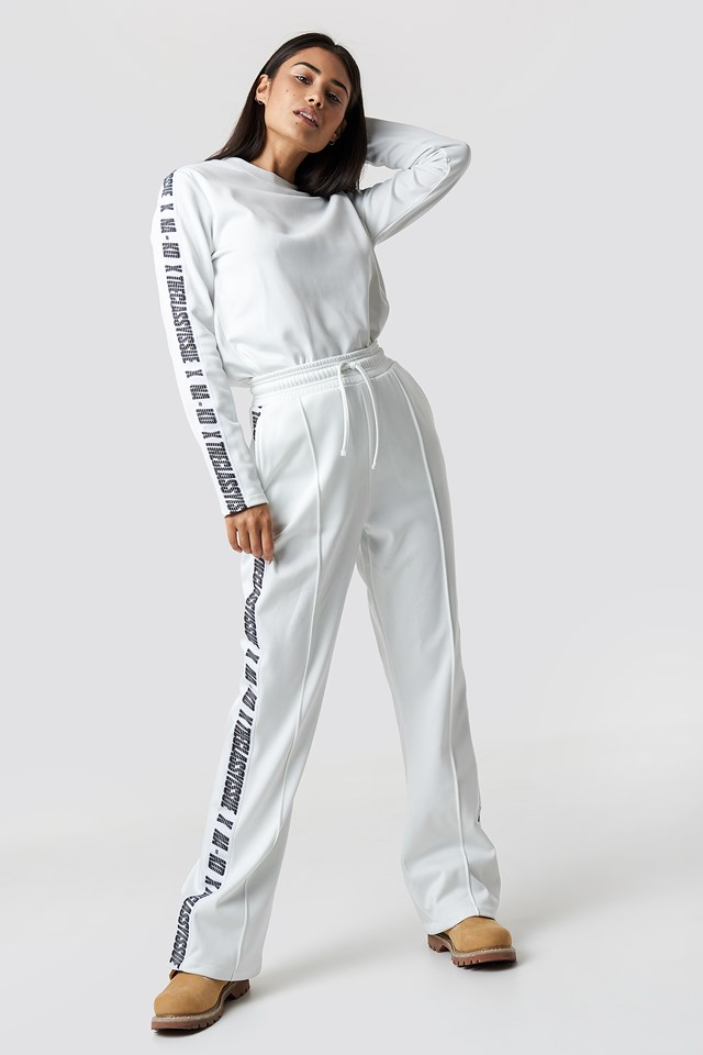 The Classy Pants White