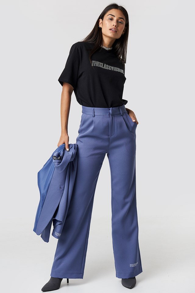 The Classy Suit Pants Blue