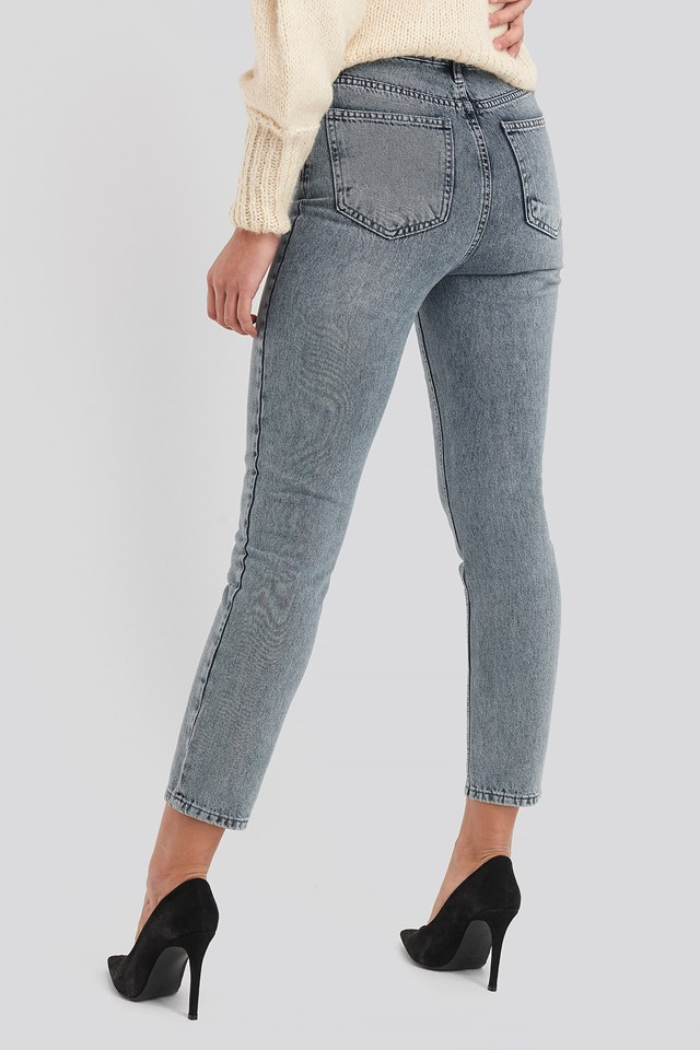 Bel Mom Jeans Antracite
