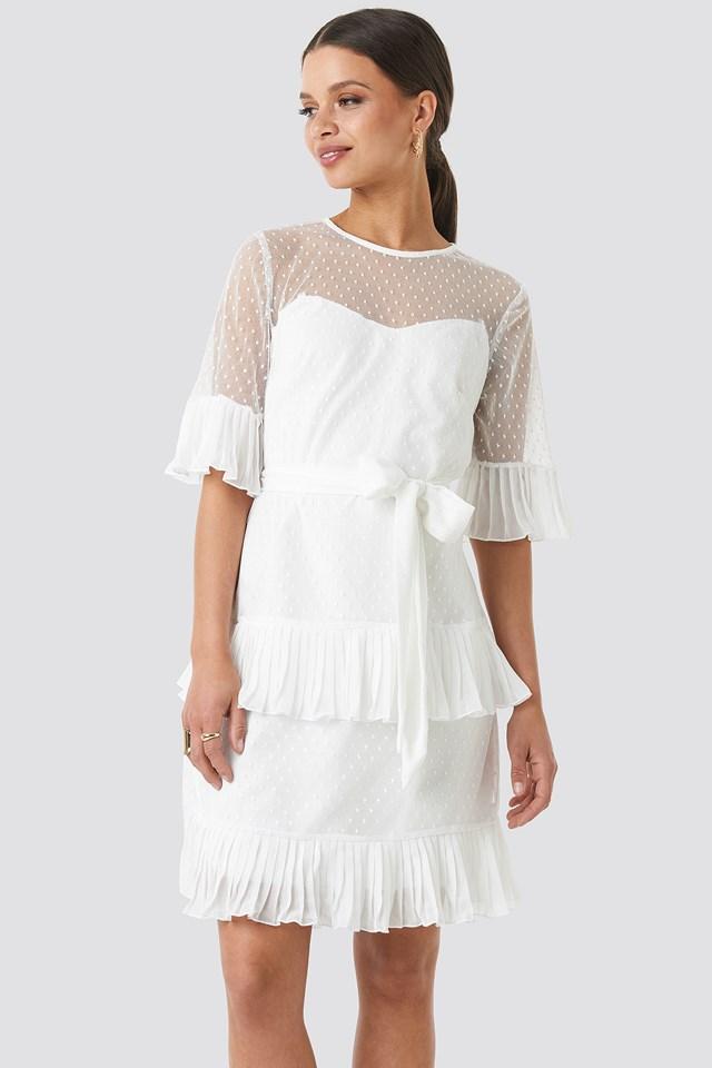 Cleo Mini Dress White
