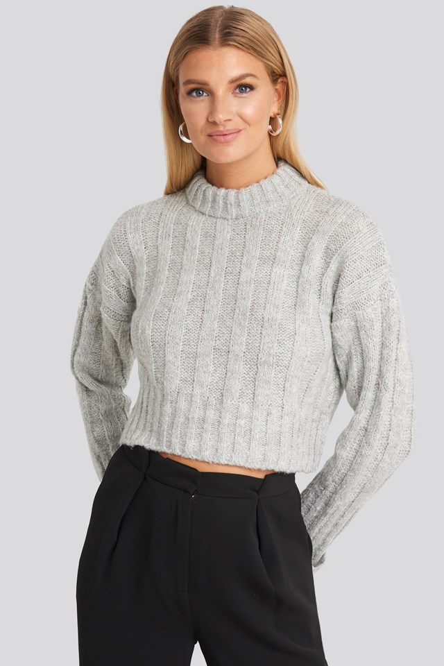Crop Sweater Trendyol