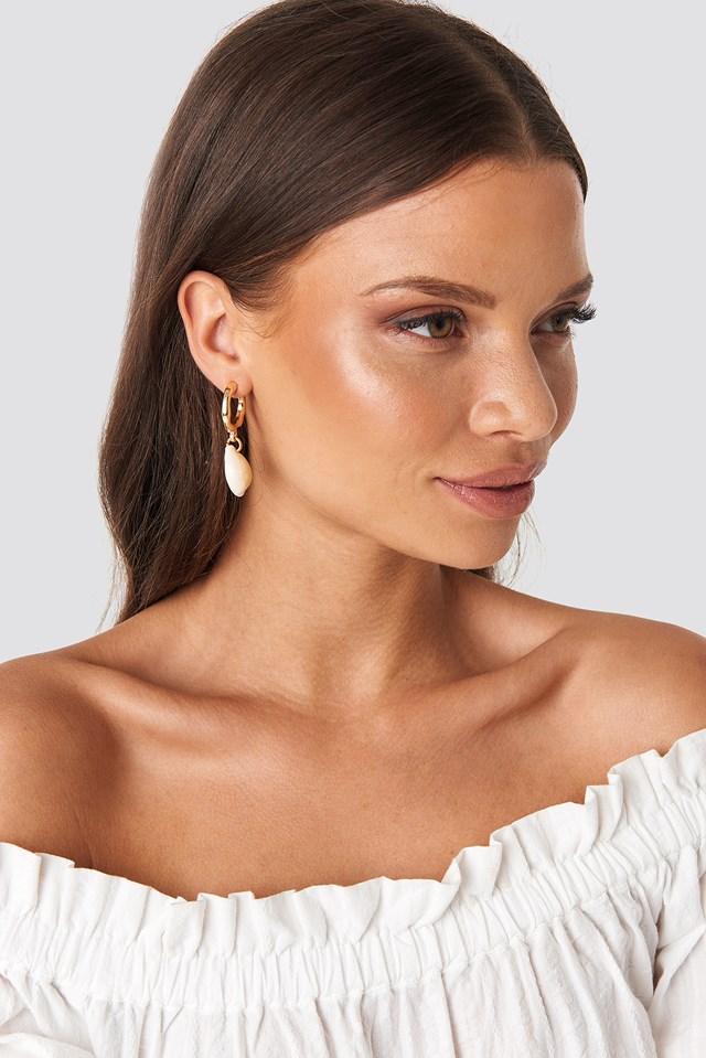 Drop Bijouterie Earrings Gold