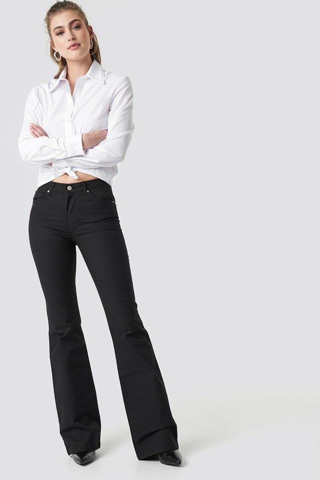 Flared High Waist Jeans Trendyol