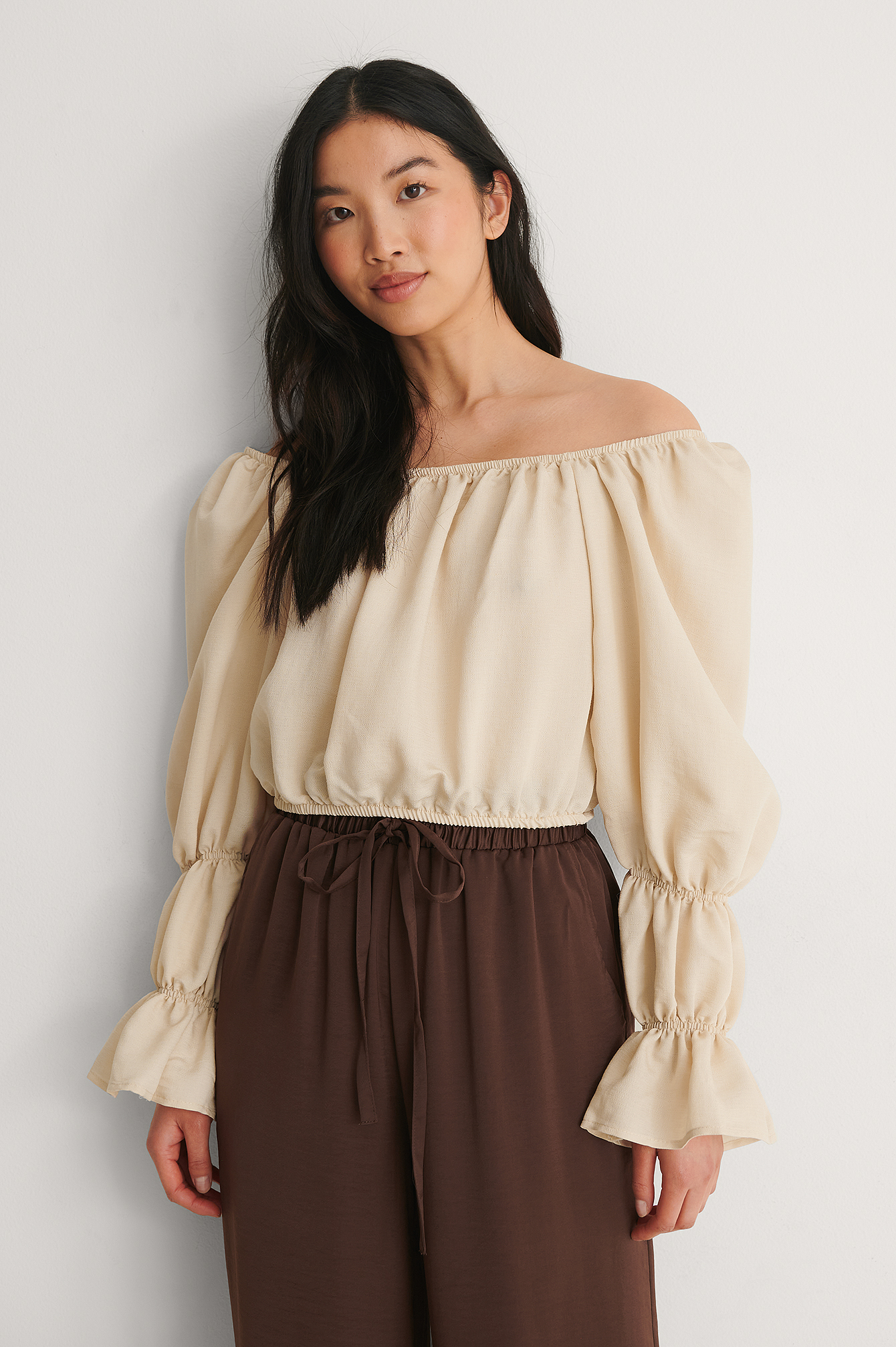 Stone Off Shoulder Blouse