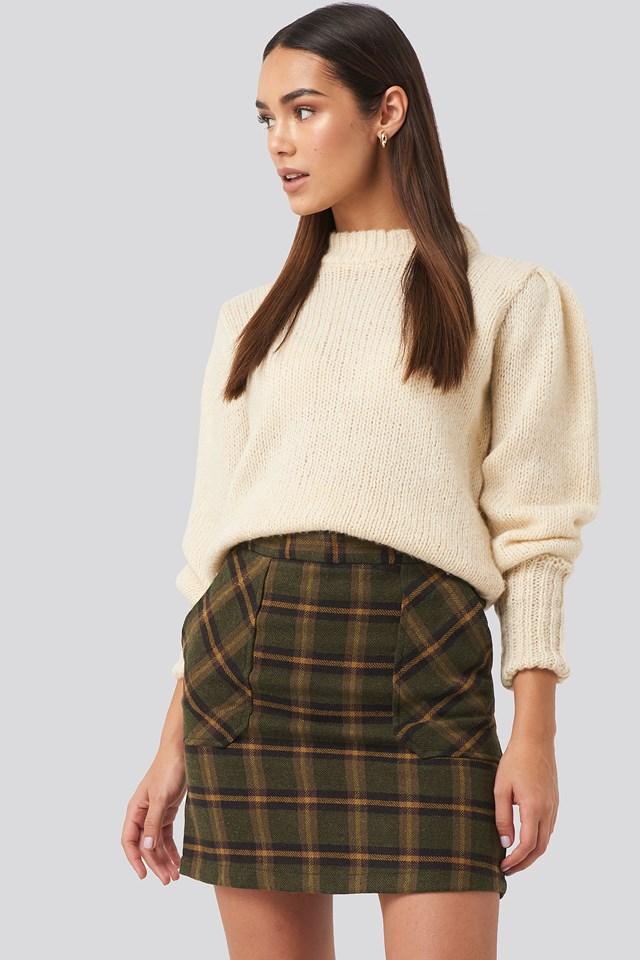 Pocket Detailed Mini Skirt Trendyol