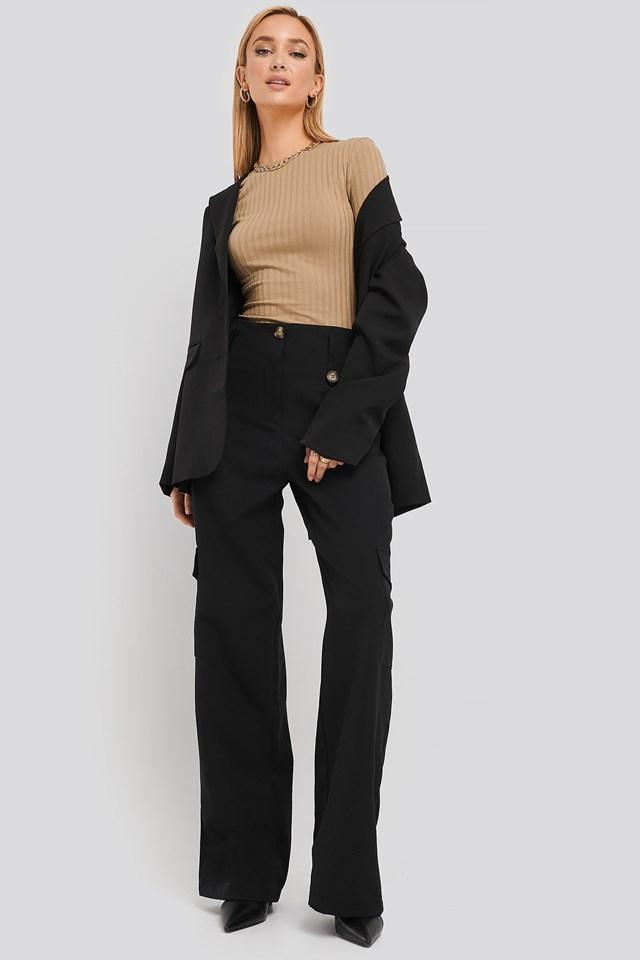 Pocket Detailed Trousers Trendyol