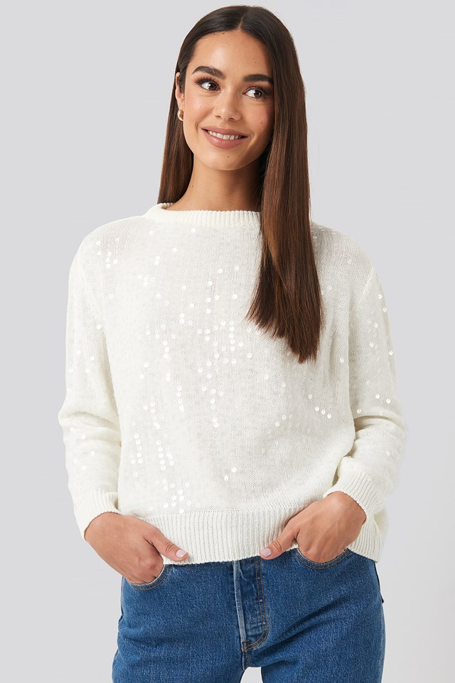 Sequin Sweater Trendyol