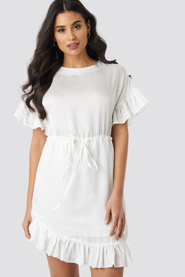 Sleeve Detail Mini Dress Trendyol