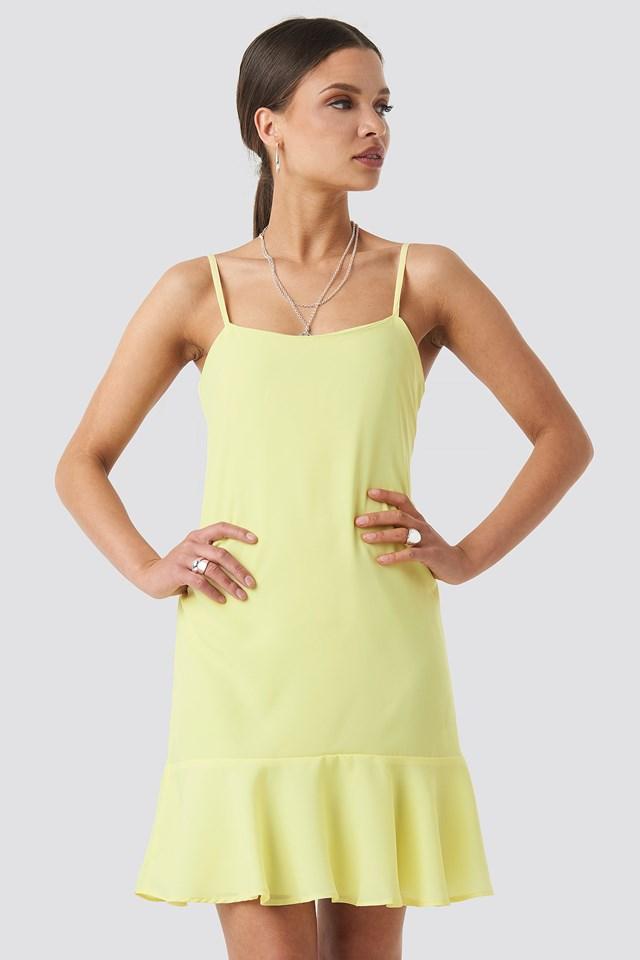 Strap Mini Dress Trendyol