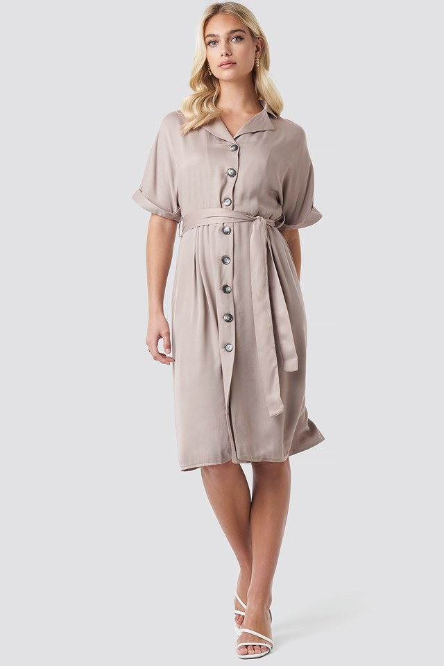 Tulum Binding Detail Dress Trendyol