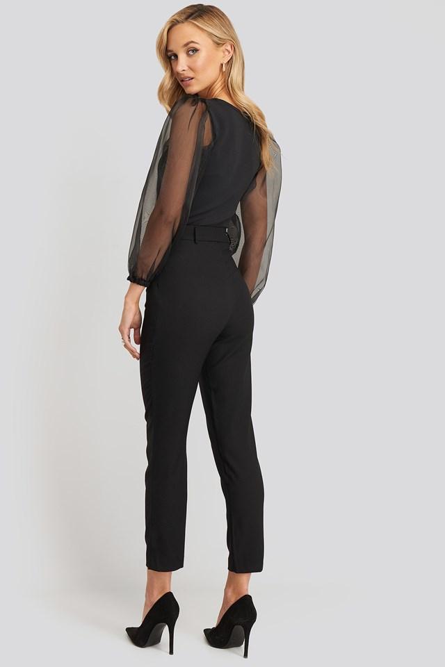 Yol Trousers Black