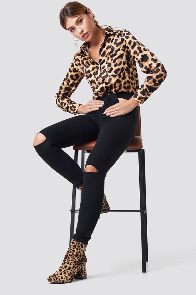Kathleen Slim Fit Jeans Black
