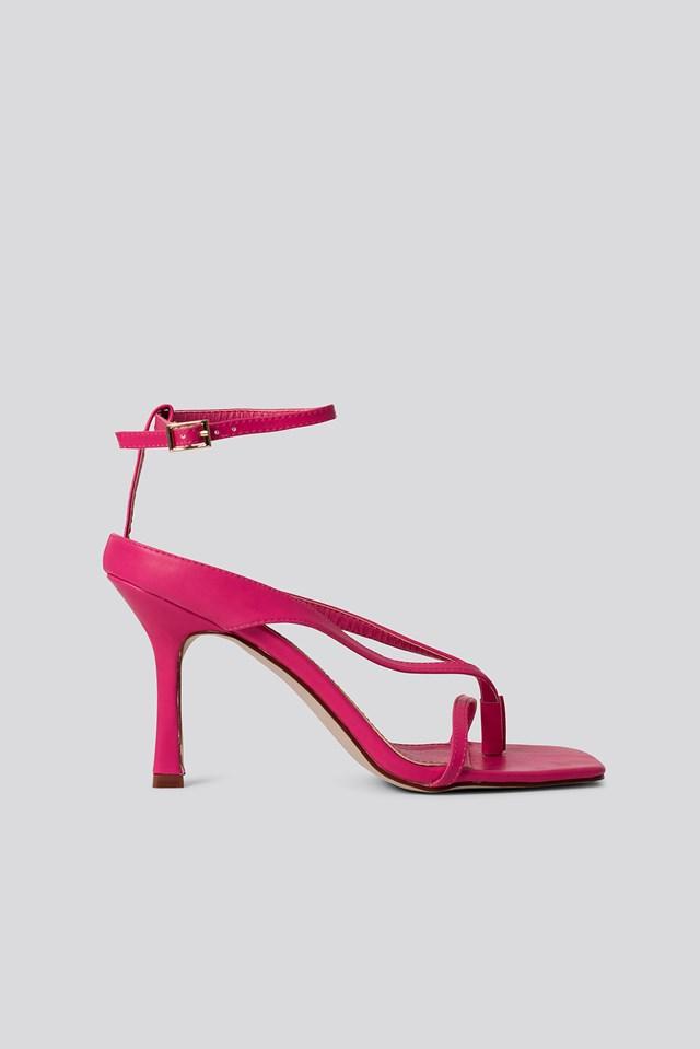 Meeka Heels Pink