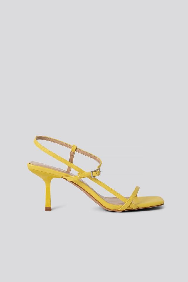 Lavina Strap Sandal Yellow