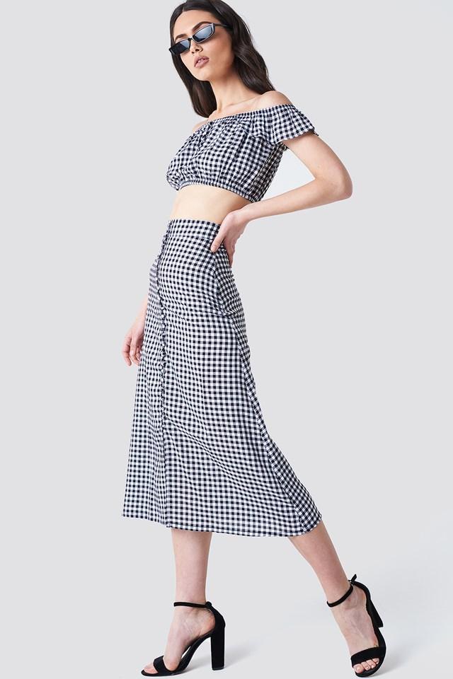 Crop Top & Skirt Co-Ords
