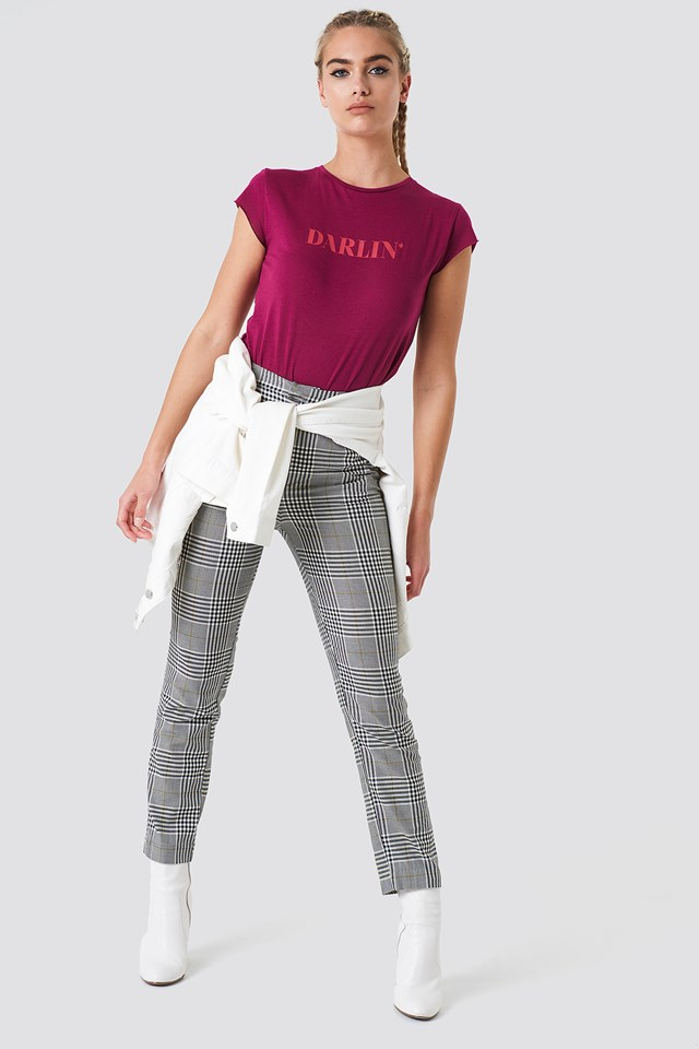 Checkered Pants Trend