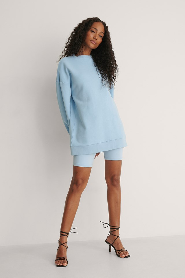 Dropped Shoulder Sweatshirt