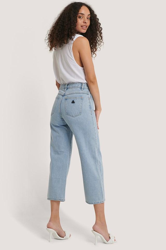 A Street Aline Crop Jeans Walk Away