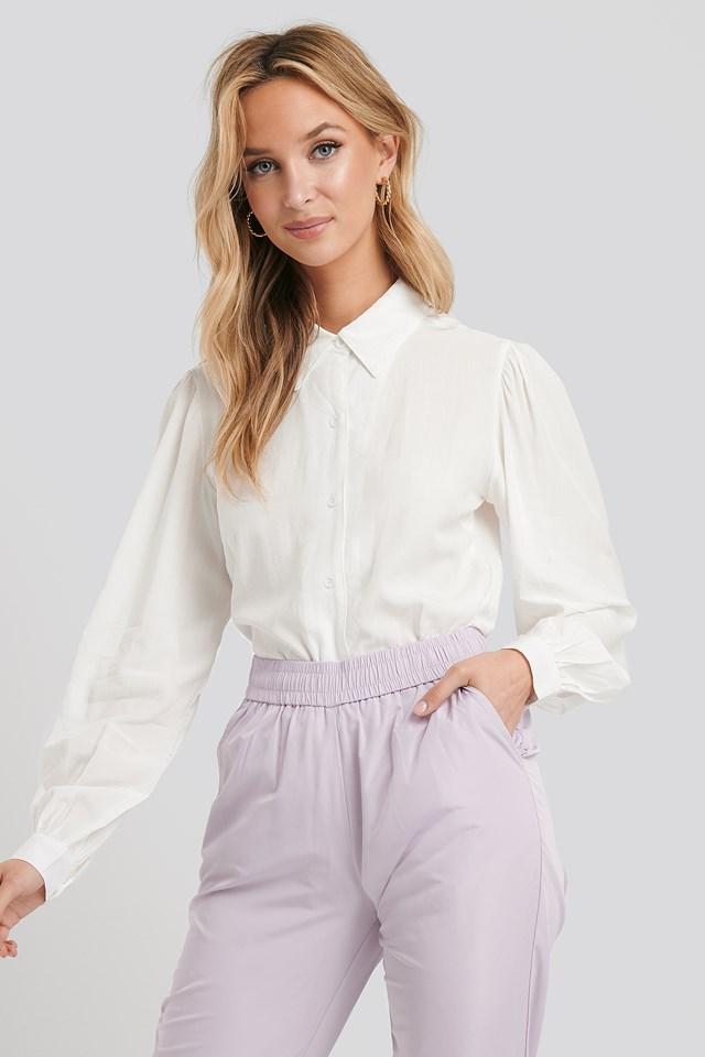 Nova Button-Down Shirt White