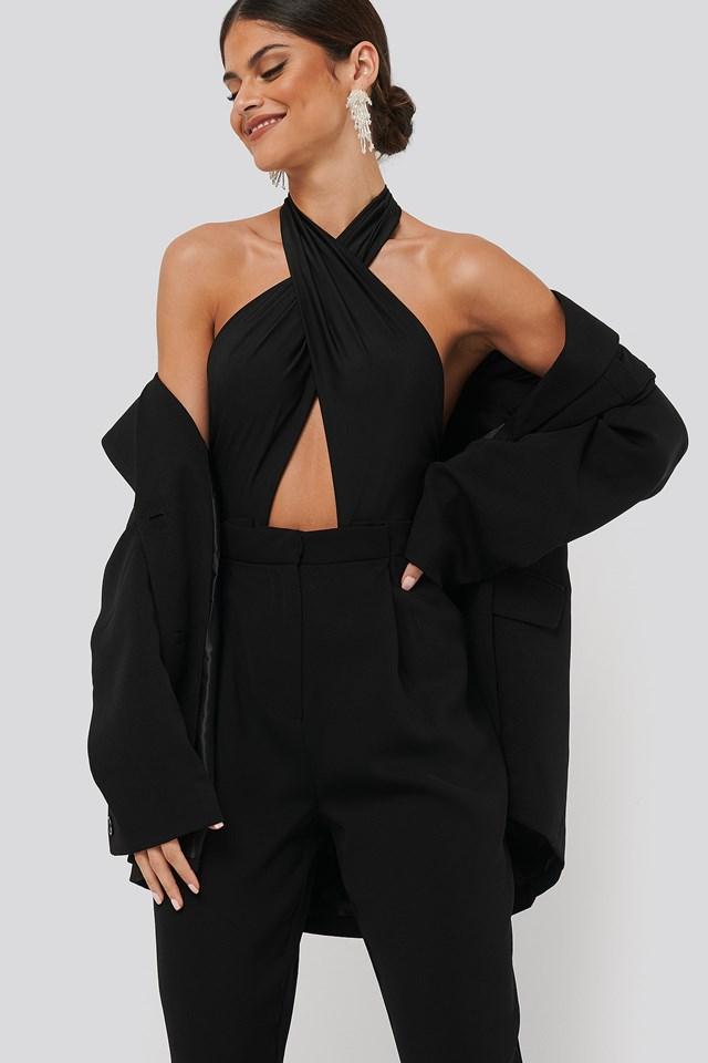 Shailene Bodysuit Black