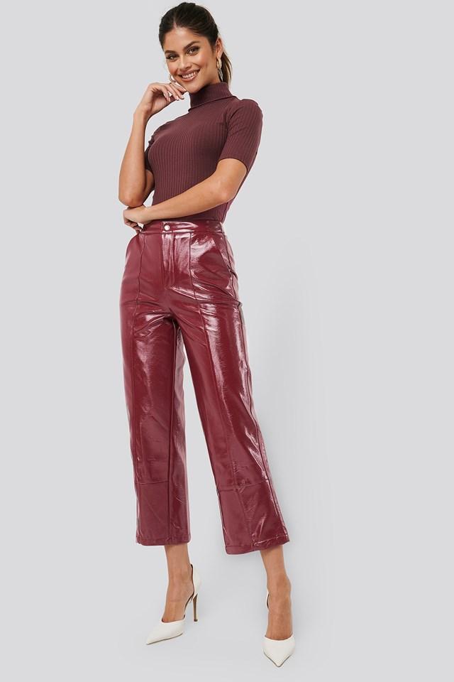 Patent Pants Wine