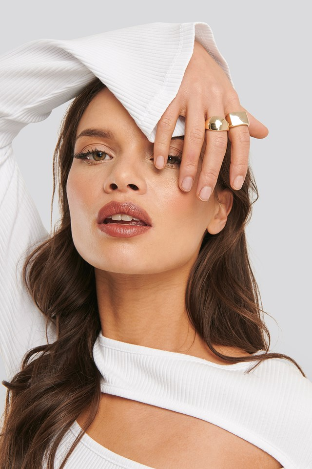 Anette Hovland Chunky Rings Gold