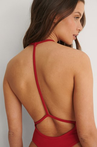 Red Back Detail Body