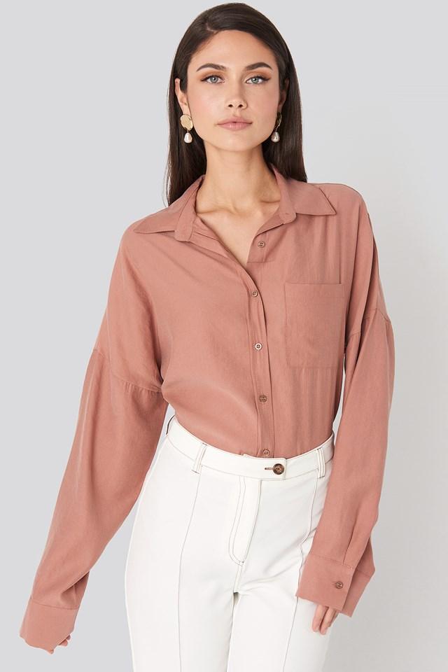 Oversize Modal Shirt Beyyoglu