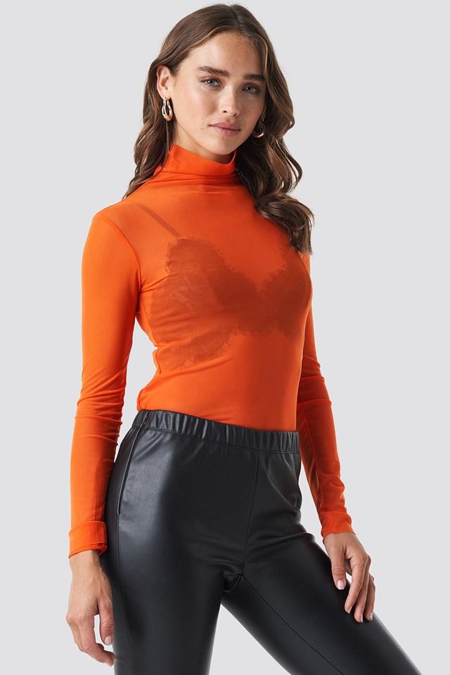 Tulle Body Orange
