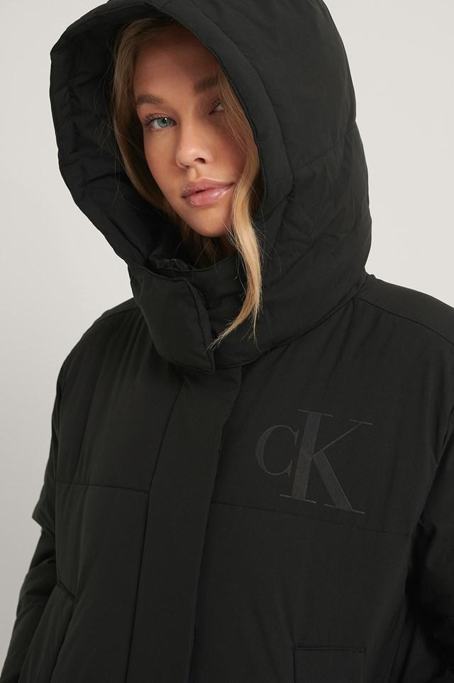 CK Eco Puffer Jacket Black