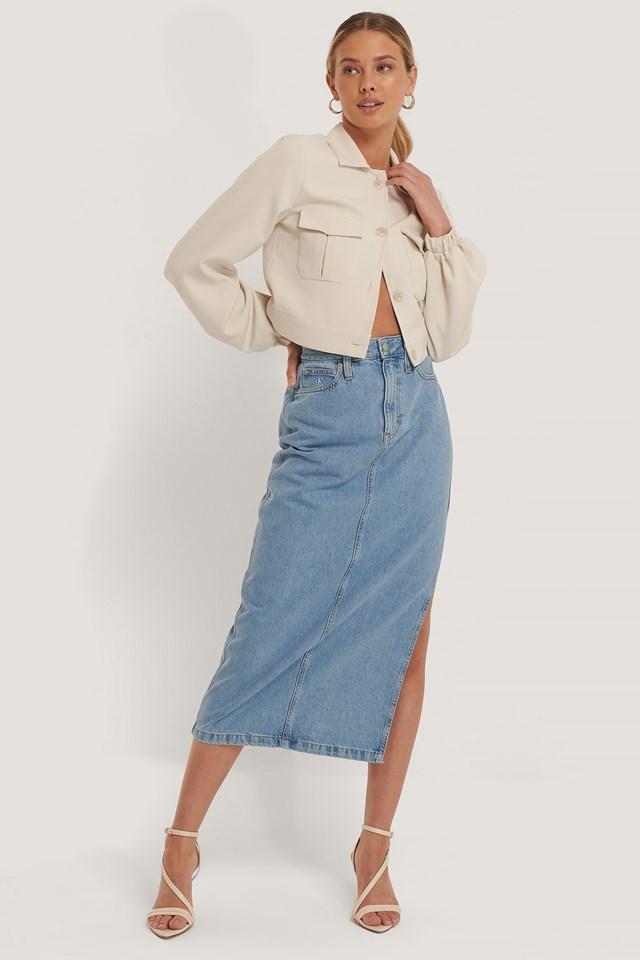 Maxi Skirt Light Blue