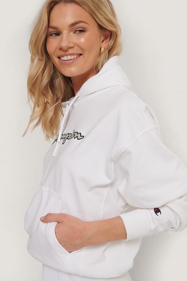 Hooded Sweatshirt White